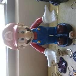 Mario Bross Hecho de Resina
