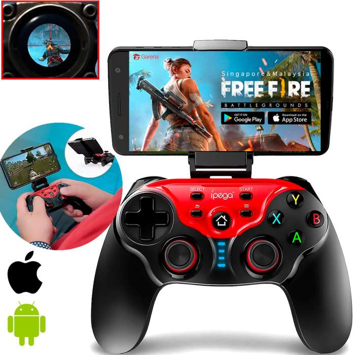 Control IPEGA Gamepad 9088 PRO Android/iOS Bluetooth Recargable