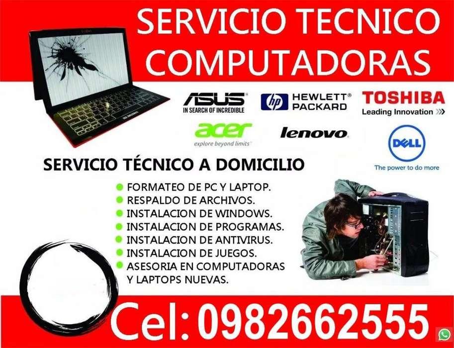 SERVICIO TECNICO COMPUTADORES A DOMICILIO EN SAN GABRIEL