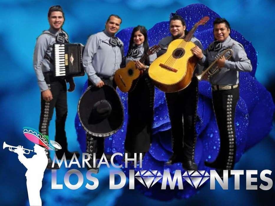 Mariachi garantizado, show de calidad, Los Diamantes