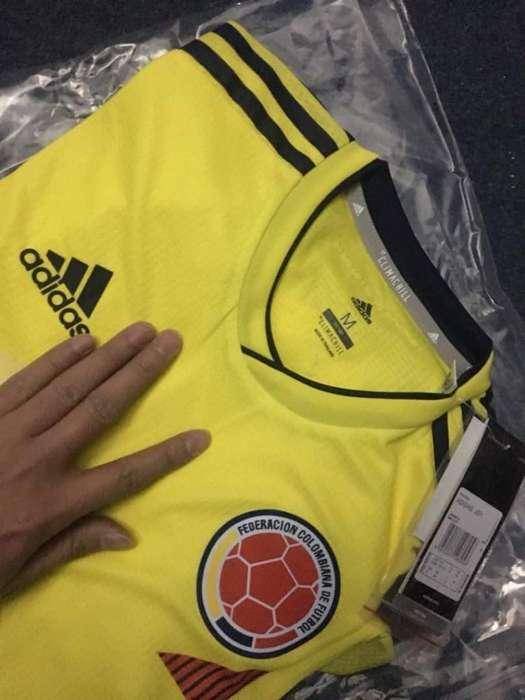 camiseta de la seleccion colombia original 2018