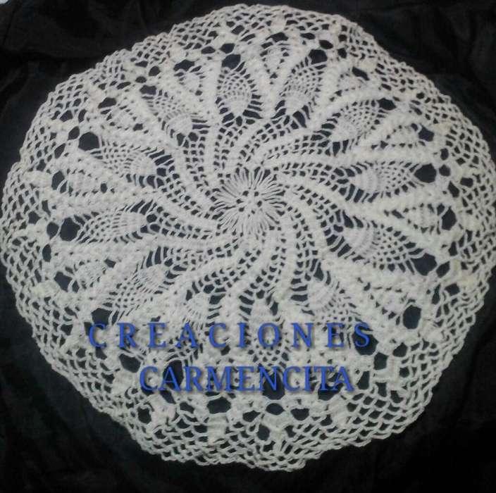 Vendo Carpetas, Manteles, Bolsos Crochet