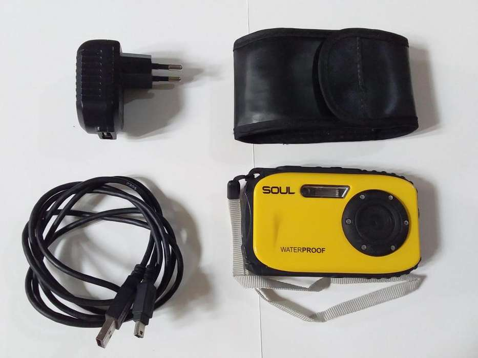 Camara <strong>digital</strong> soul WATERPROOF 16 MP