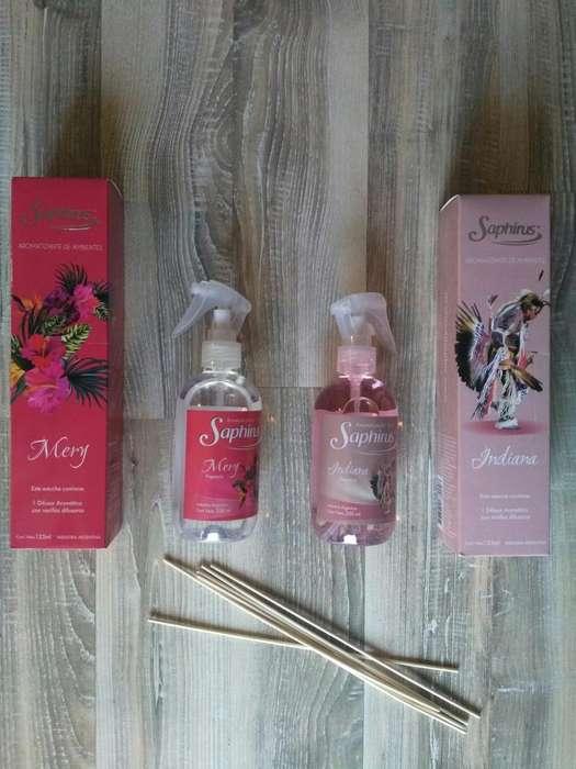 Perfuminas, Aerosoles Y Difusores