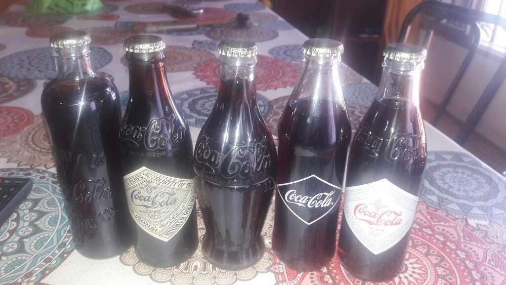 Botellitas Coca Cola