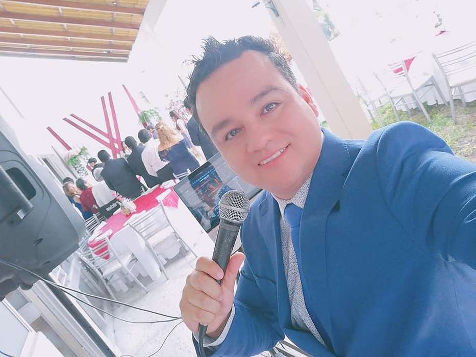 Maestro de Ceremonias DJ Animador Anfitrion