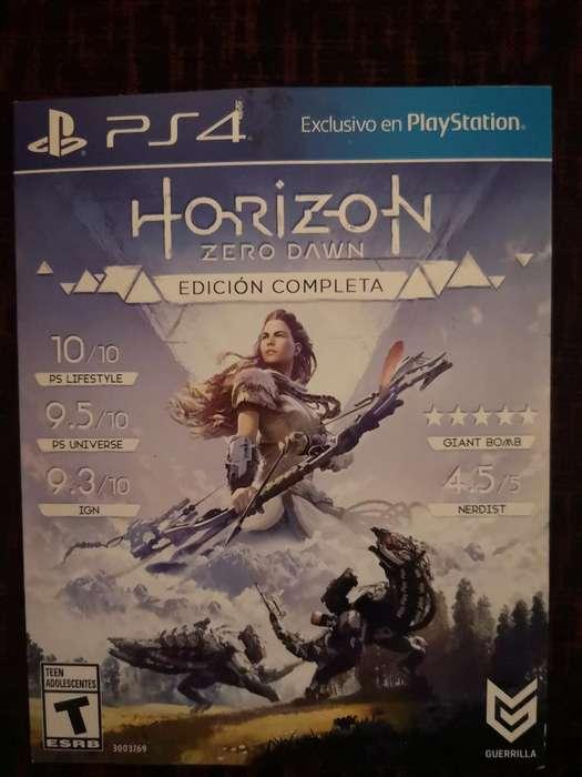 Horizont Zero Dawn Ps4