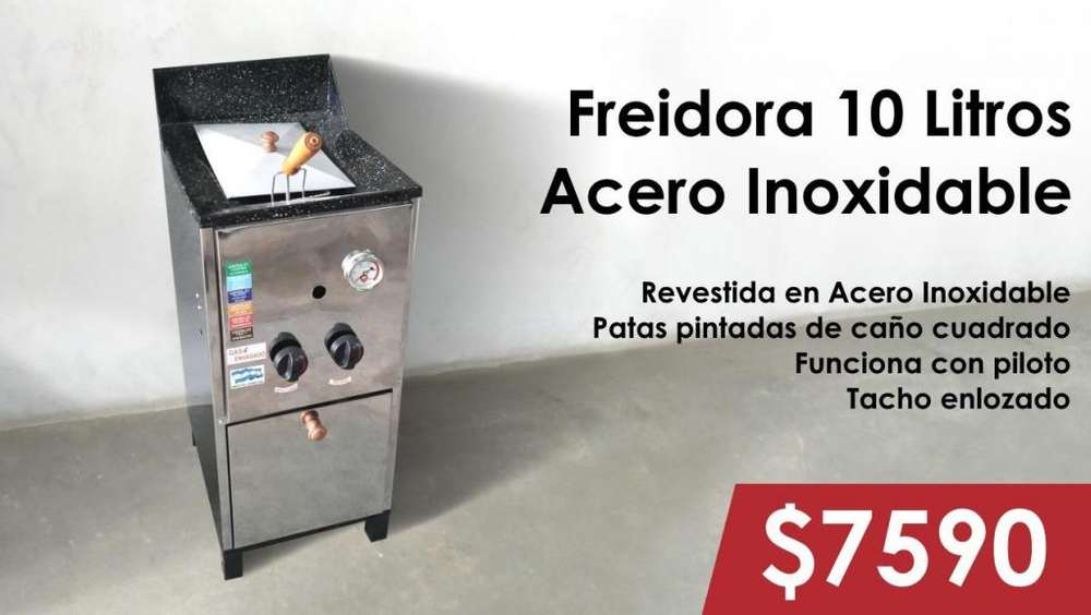 FREIDORA 10 LITROS