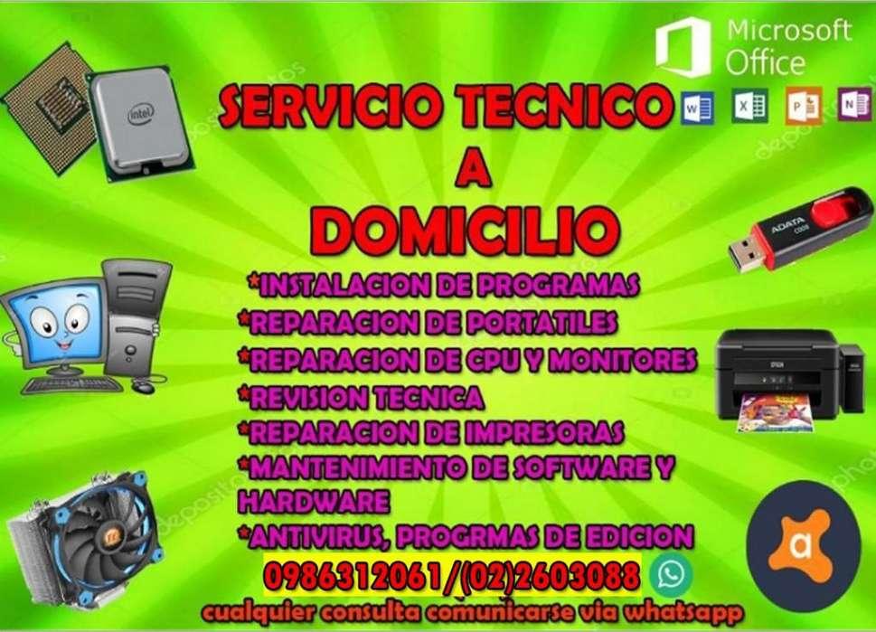 Servicio <strong>tecnico</strong> a Domicilio
