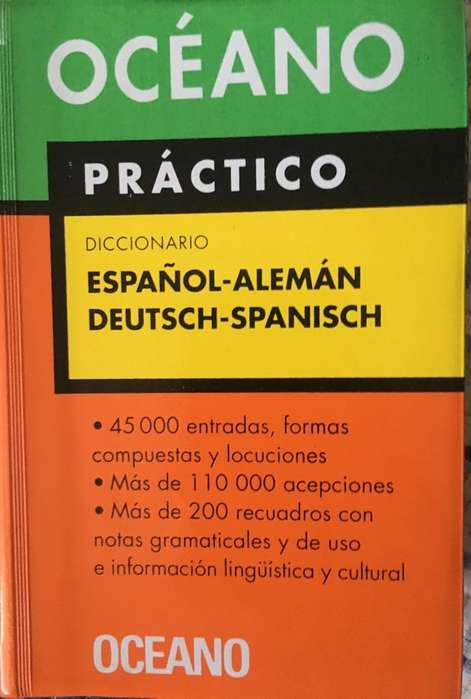 Diccionario Español Aleman Y Vs.