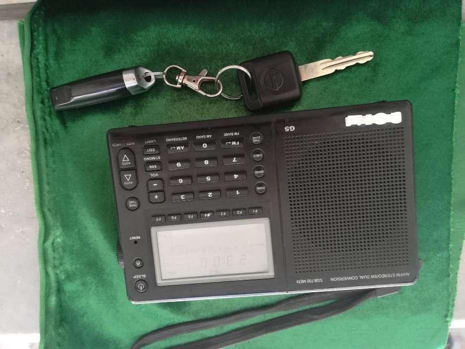 Radio Grundig G5 Multibandas Alemán