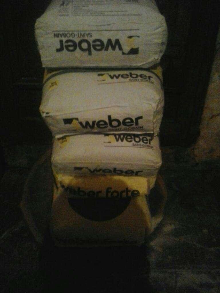 5 Bolsas de Fino Weber de 25 Kilos