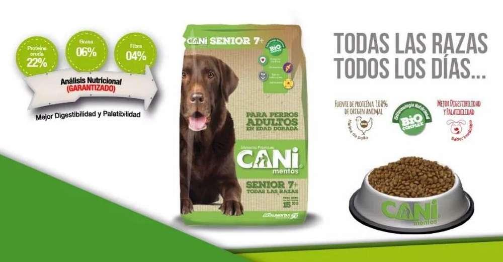 Cani Senior 15kg Promoción