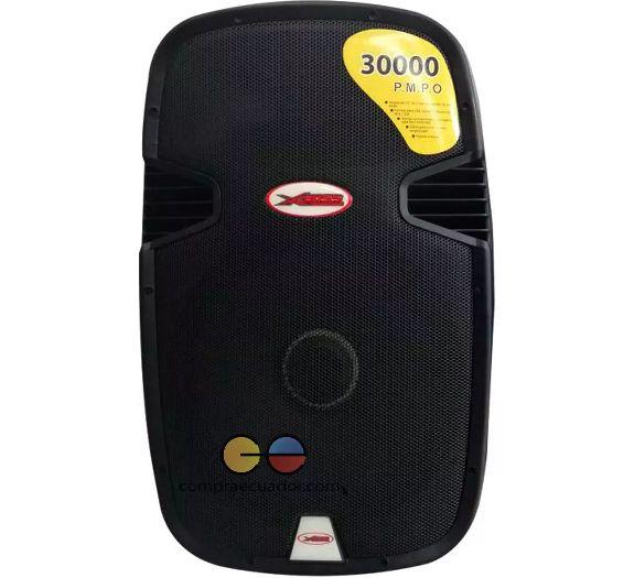 Xboss Parlante 30000w Amplificad Bluetooth soporte Micrófon