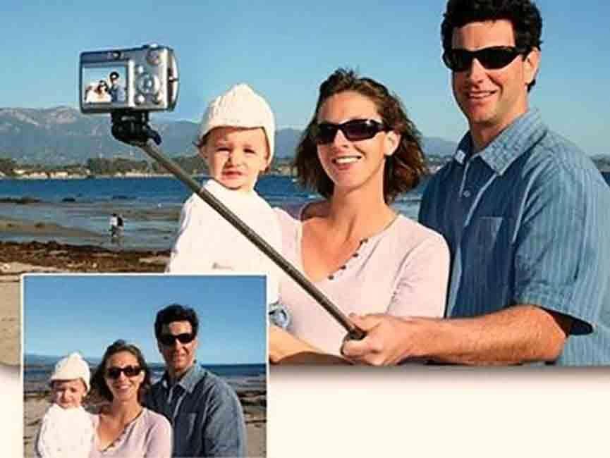 Monopod Selfies Baston Con Cable Para <strong>celular</strong>es Y Camaras