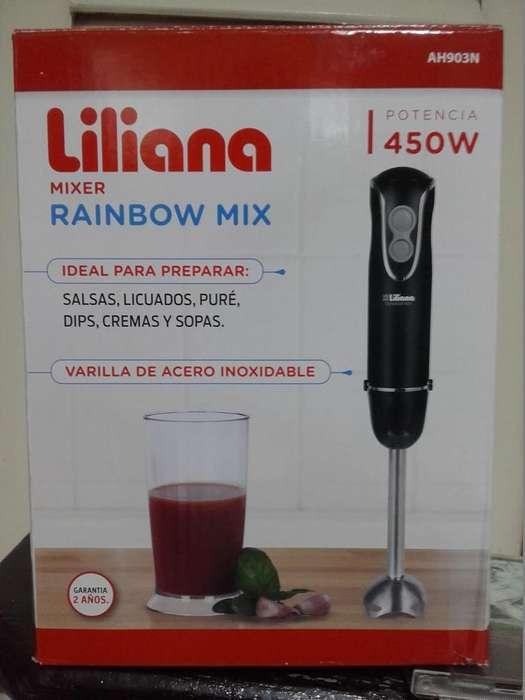 Minipimer marca LILIANA con Vaso