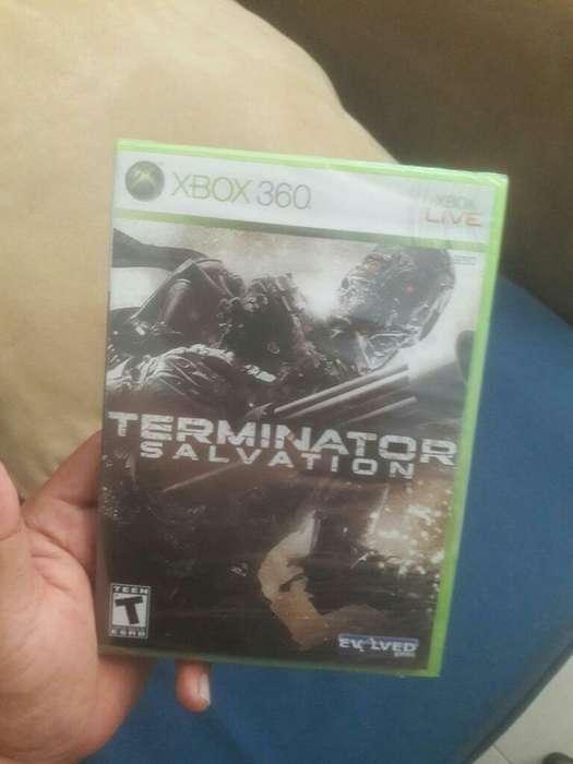 Terminator Salvation Xbox Nuevo