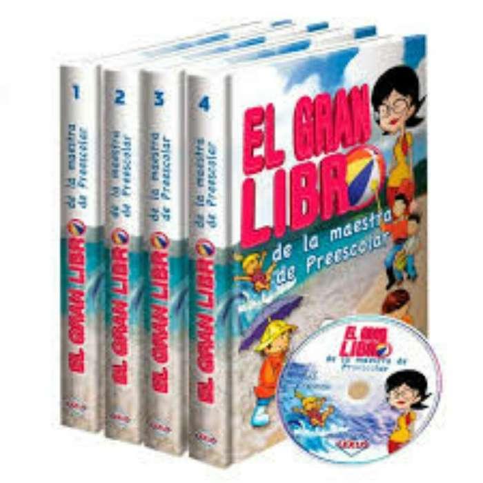 El Gran Libro De La Maestra De Preescolar 4 Tomos Lexus