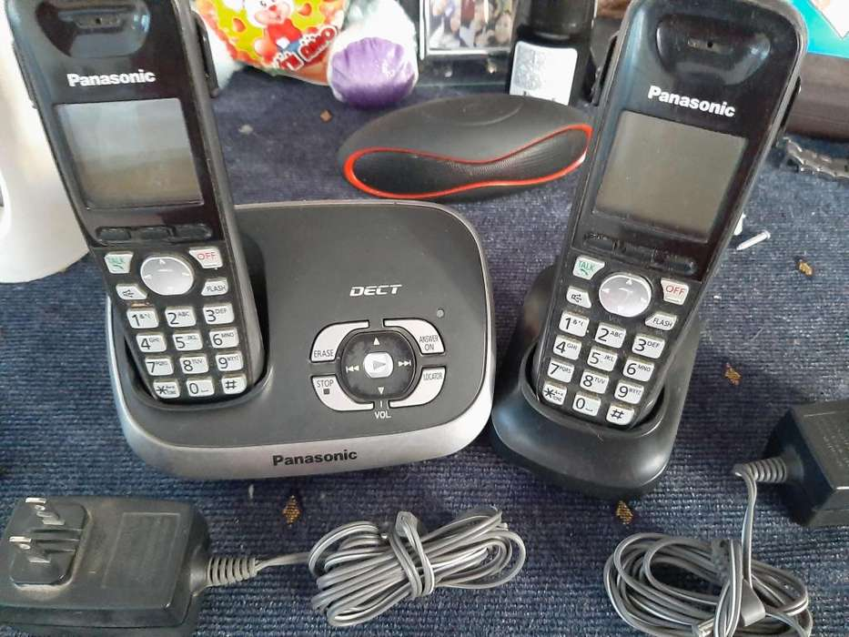 Vendo telefonos de casa o de oficina <strong>panasonic</strong> NEGOCIABLE