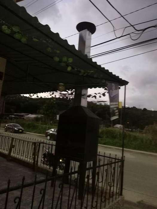 Asador con Campana Y 4 Metros de Ducto
