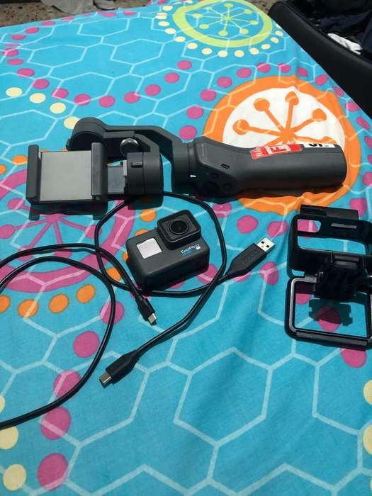 Gopro 6 Black Y Osmo <strong>movil</strong> 2