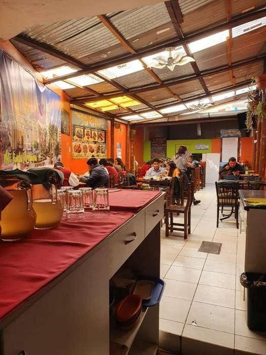Traspaso Restaurante en Av Huascar 114