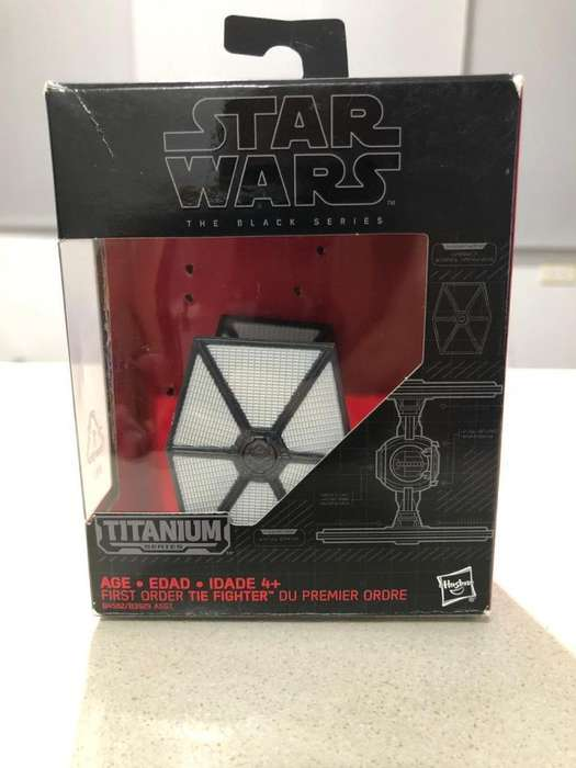 Star Wars Black Series Titanium first order tie fighter # 13