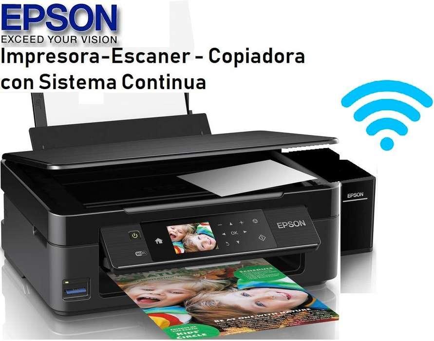 Impresora Epson Xp440 Mejor Q La L380 Wifi.