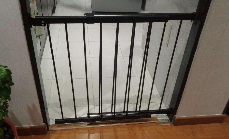 Reja Puerta De Seguridad Para Niños Bebes O Mascotas, Acceso
