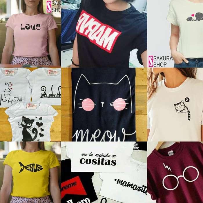 Camisetas Básicas X Mayor Y Detal