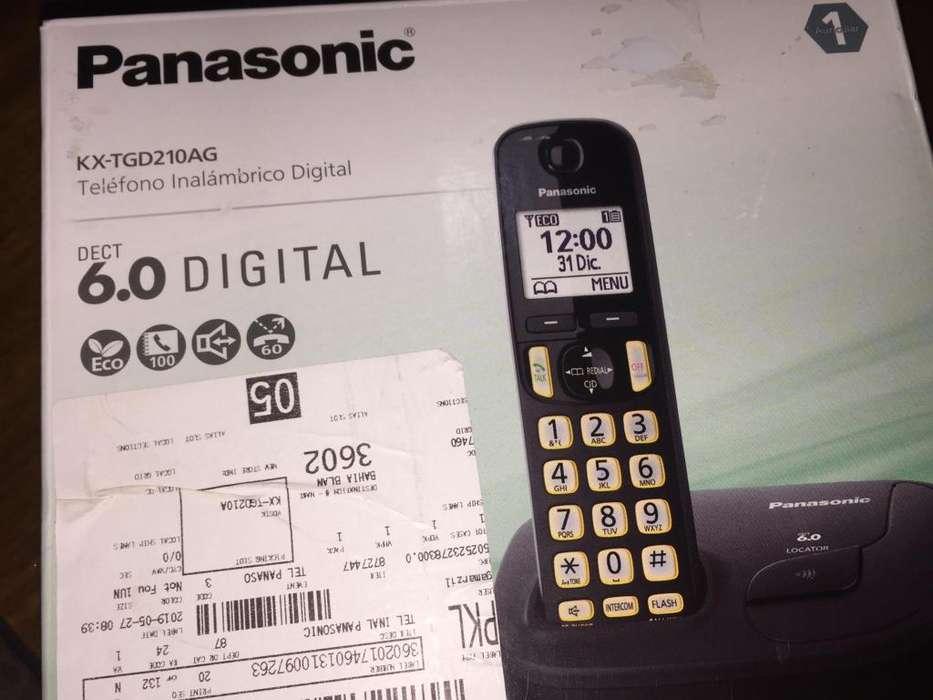 TELEFONO INALAMBRICO PANASONIC 6.0 DIGITAL