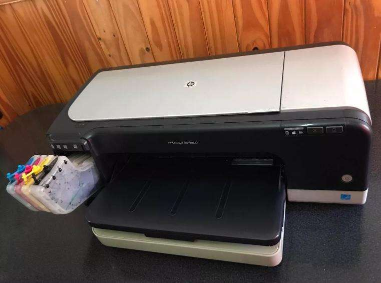 Impresora A3 Hp K8600 con Sist Continuo