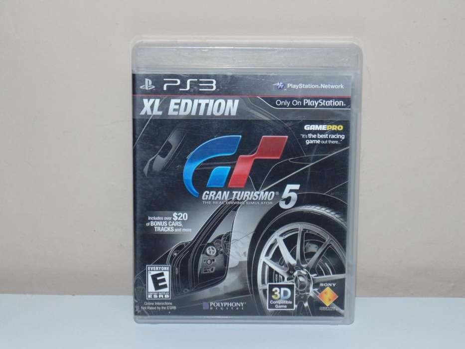Gran turismo 5 XL edition Juego PS3 Play Station 3