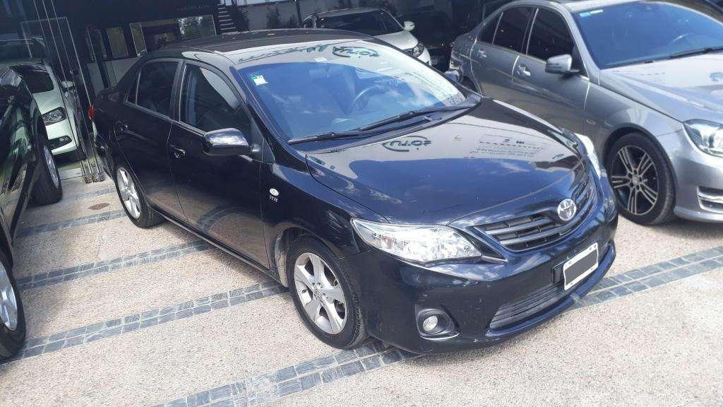 Corolla 1.8 XEI MT 2013 - 220.000 y cuotas