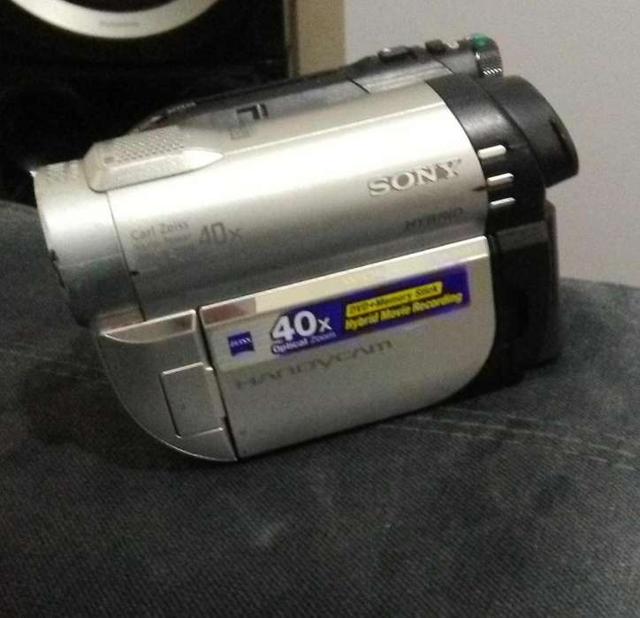 Camara filmadora Sony DVD610