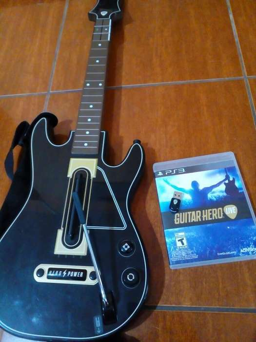 Vendo Pack Guitar Hero Live Ps3