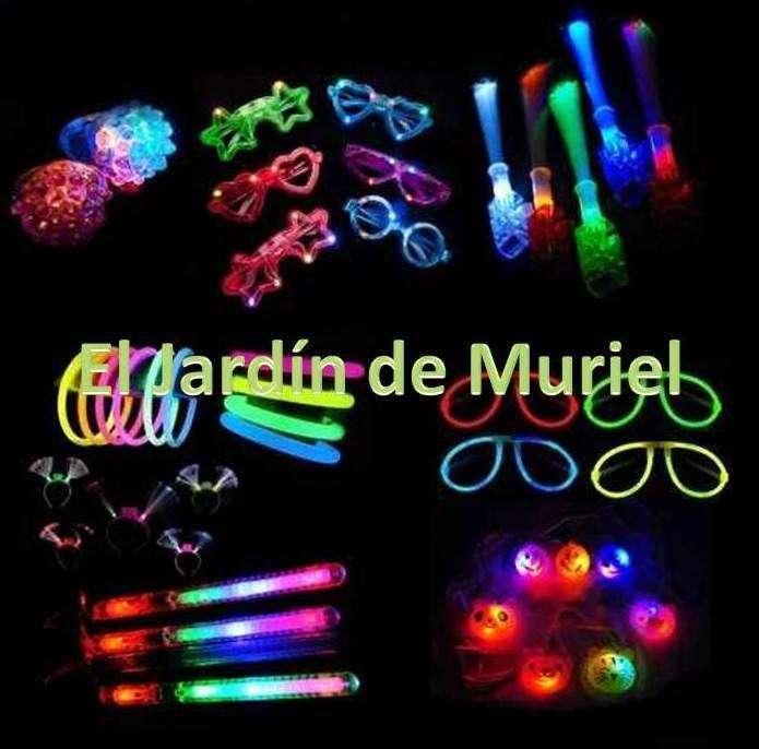 Combo cotillon luminoso/fluo hasta 100 personas - Whatsapp 1163365292