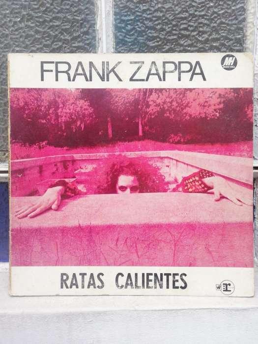 Vinilo Frank Zappa Ratas Calientes
