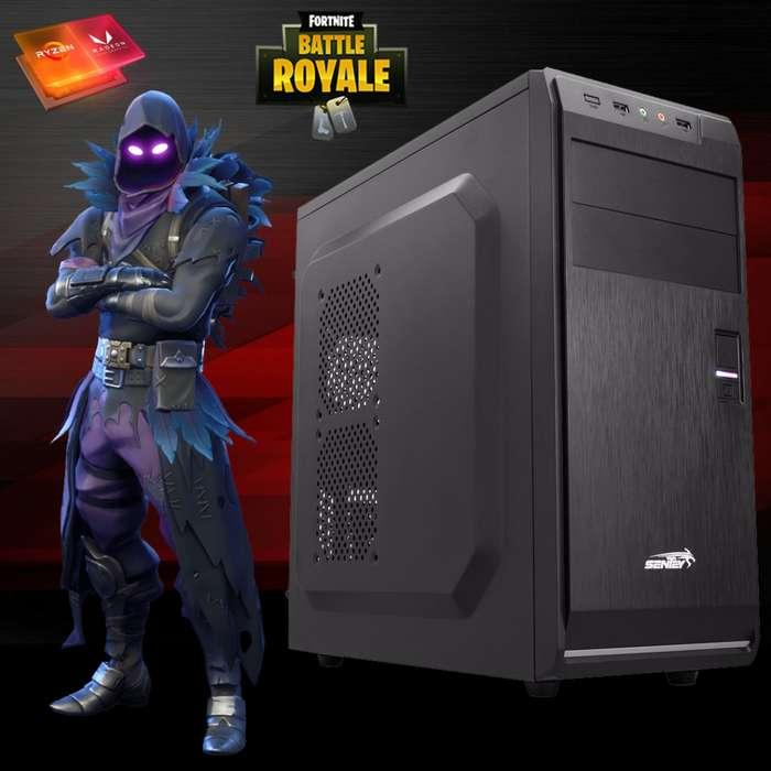 PC GAMER Ryzen 3 3200G 8Gb 2x4Gb 2666MHz SSD 240Gb Juegos y Envíos Gratis