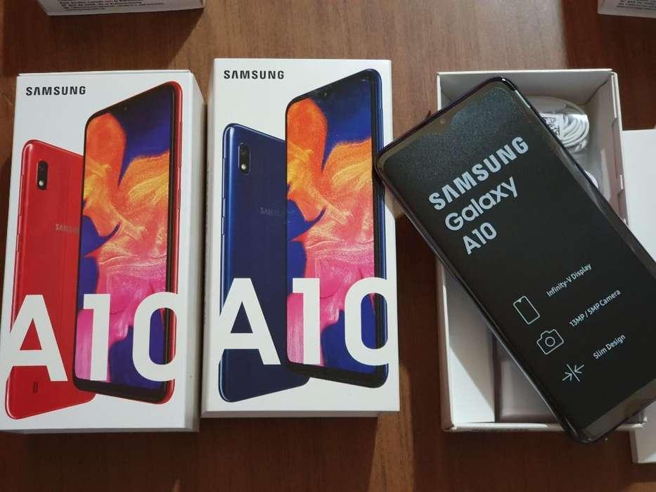 Samsung A10 32gb en Rojo