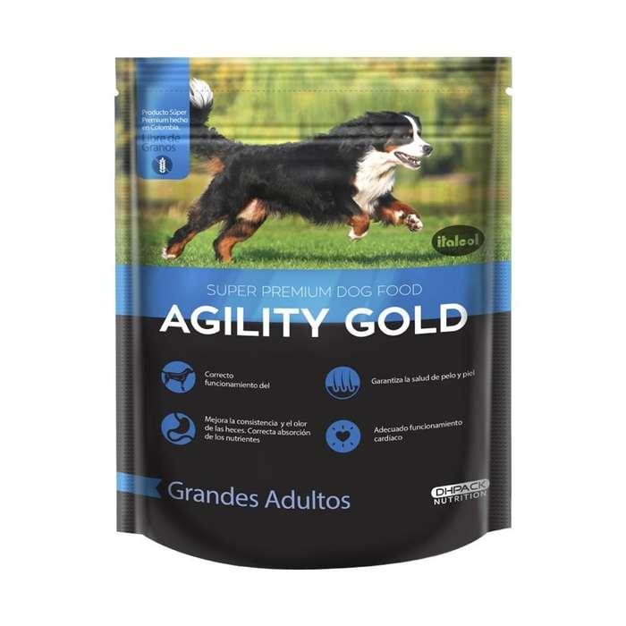 Alimento Agility Gold Perros Adultos Raza Grande Pollo 3KG