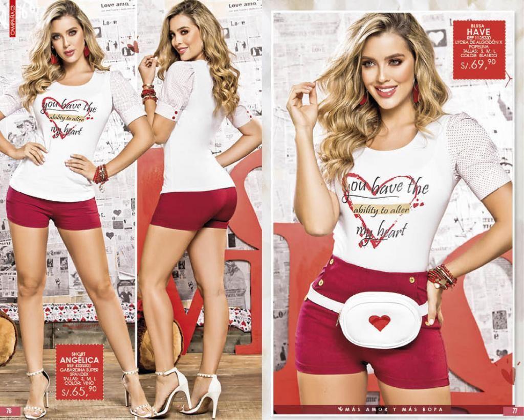 e3614302a0 Shorts Ropa De Moda Mujer Colombiana Chicas 2019 Prendas De