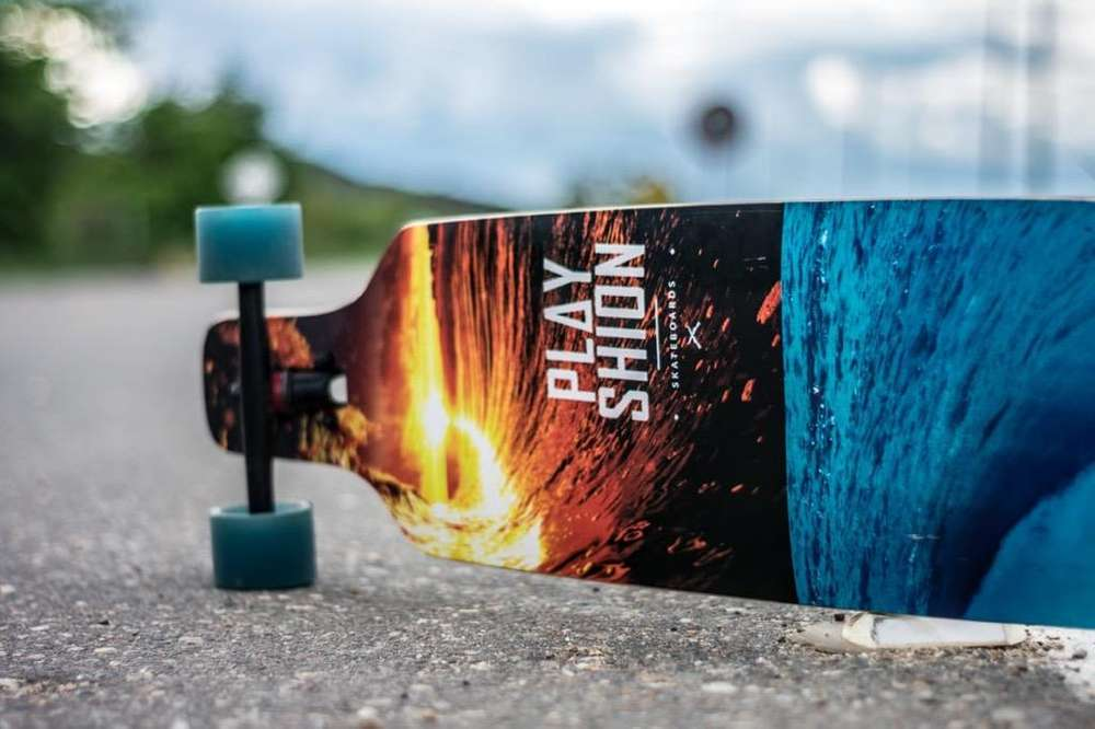 Patineta Long Board