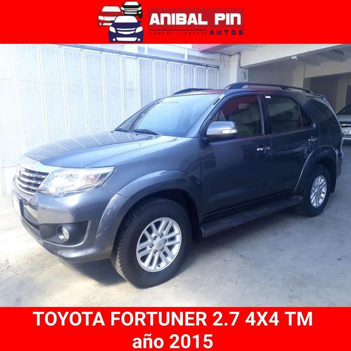 Toyota Fortuner 2015 - 111100 km