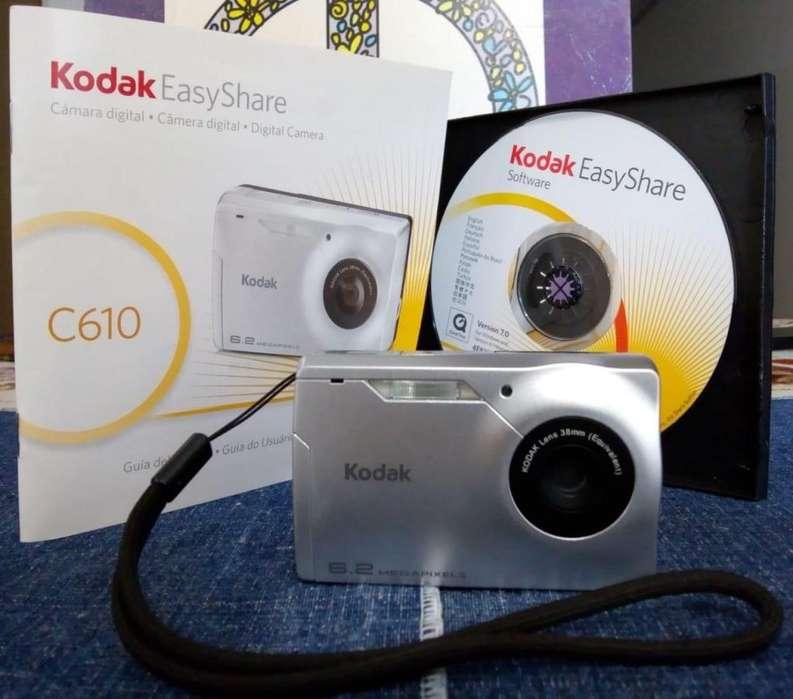 Cámara digital Kodak EasyShare C610