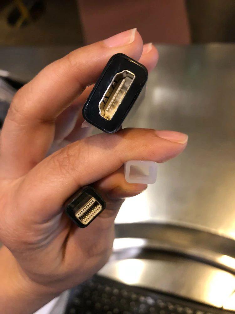 cable adaptador mini display port hdmi thunderbolt para computadora Apple Mac Macbook Pr Air