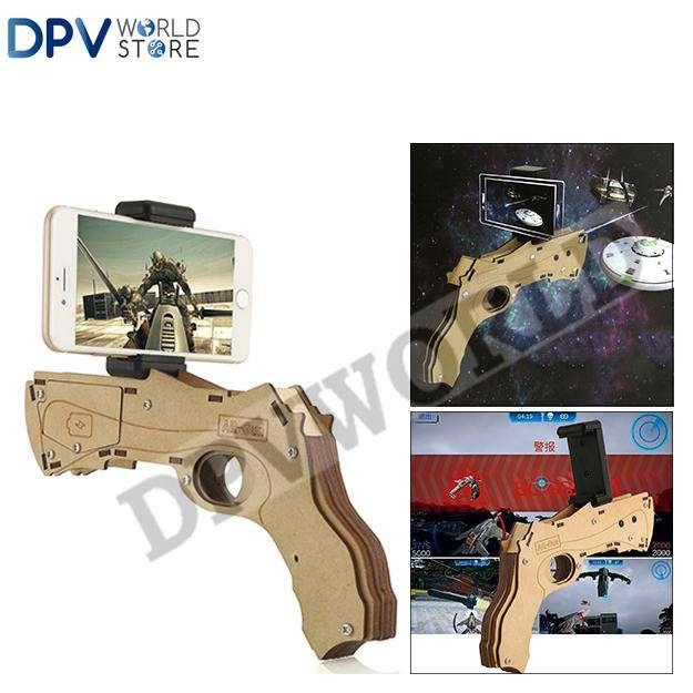 Pistola Realidad Virtual Vr Box Bluetooth Vr Gun 3d Android