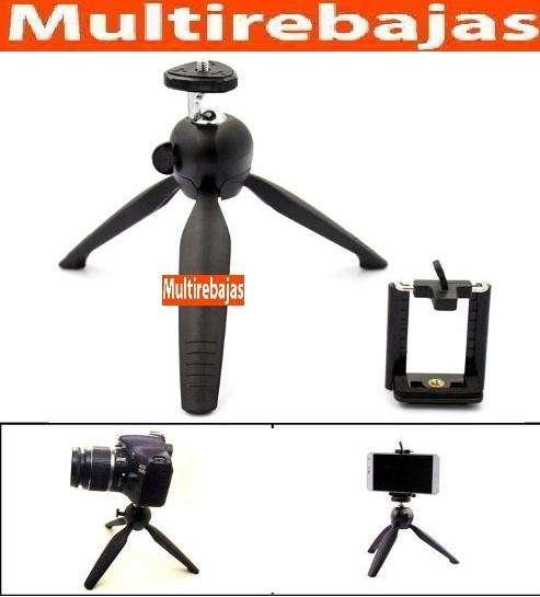 Tripode Aluminio Selfie Profesional Para Celulares Y Camaras