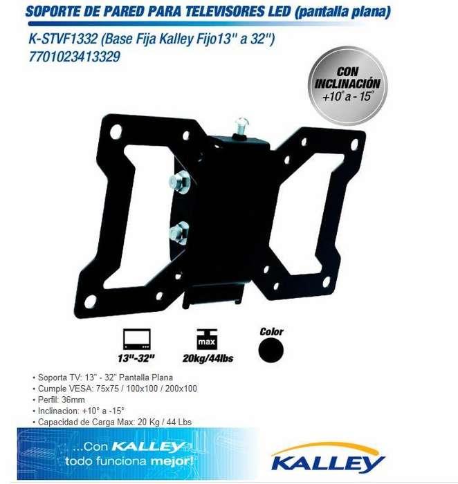 soporte para <strong>televisor</strong> 13-32 pulgadas marca Kalley