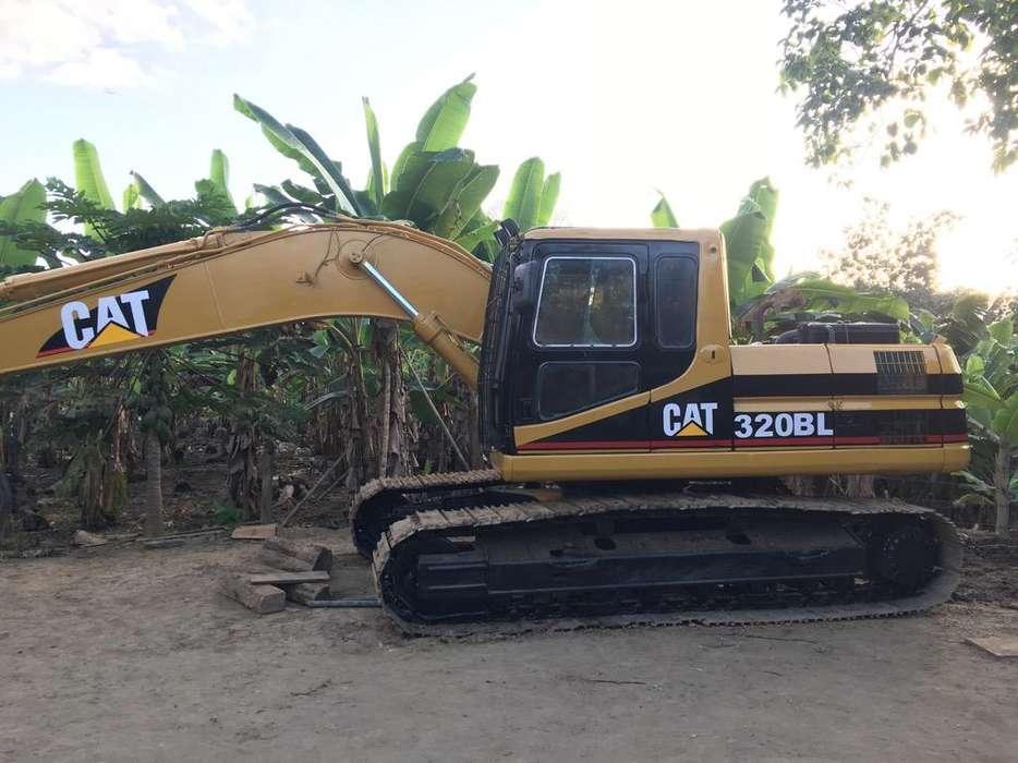 Excavadora Cat 320Bl